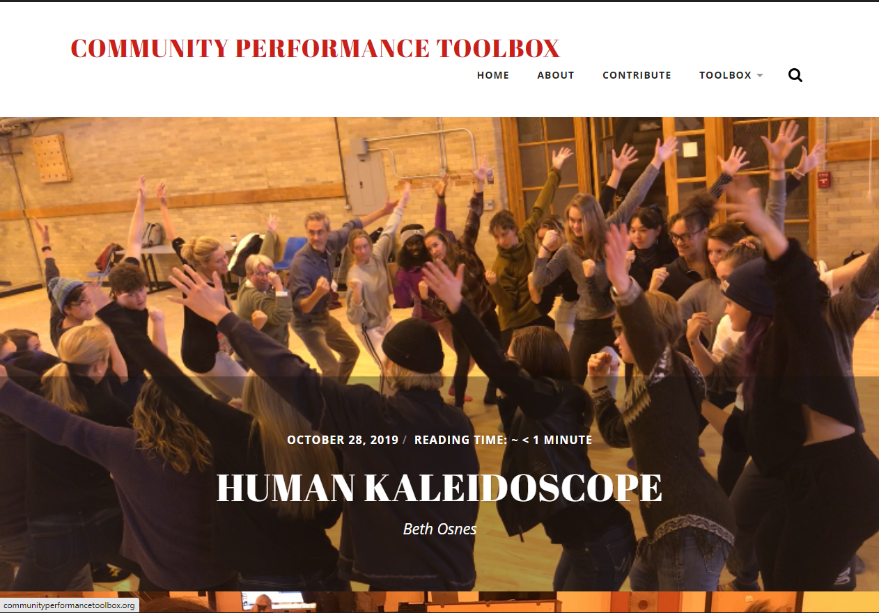 Course Site-Community Performance Toolbox